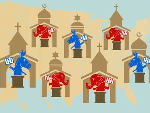 Republican Jews like me are being chased out of synagogues by the Forward