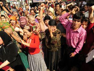 Uyghur Muslims by the Forward