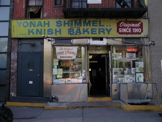 Yonah Shimmel's by the Forward