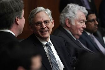 Merrick Garland by the Forward