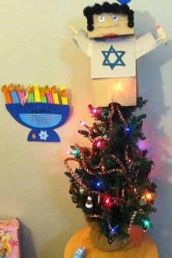Christmas Hannakah.The Hanukkah Bush And Christmas Dreidel The Forward