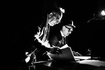 Ben Loeterman, directing Stanley Tucci for