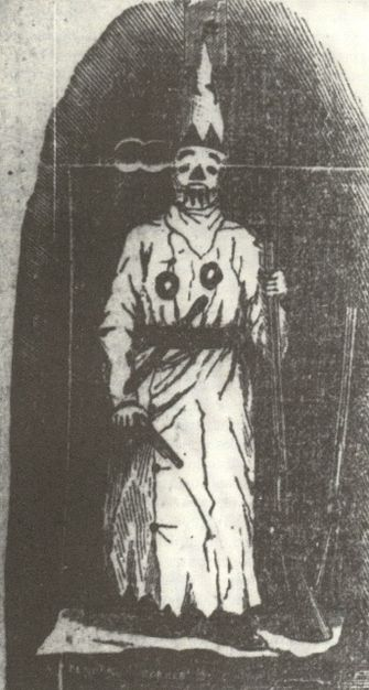 Image of the Veiled prophet from the October 6th 1878 issue of the Missouri Republican. by the Forward