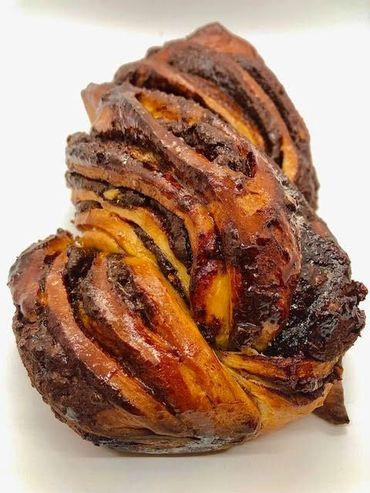 Chocolate babka by the Forward