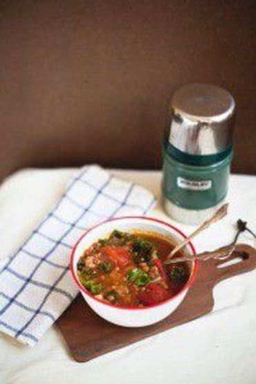 High Plains Lentil Sausage And Kale Soup The Forward