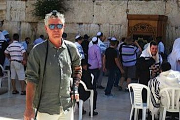 aa677c12 When Anthony Bourdain Journeyed To Israel – The Forward