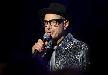 Jeff Goldblum, a man who really wants you to get out and vote. by the Forward