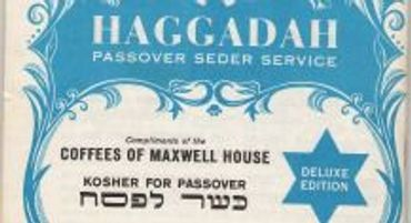 image relating to Printable Haggadah called 101 Yrs of the Maxwell Residence Haggadah The Ahead