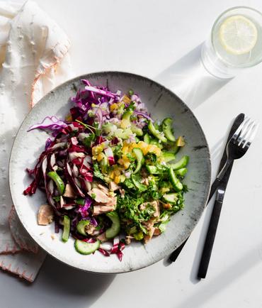 Tuna salad a la moi by the Forward