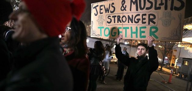 Jews, Muslims together