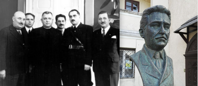 Určanský;  Ďurčanský busta od Forwarda na Slovensku