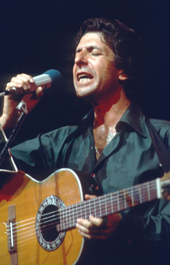 Leonard Cohen in the 1970s by the Forward