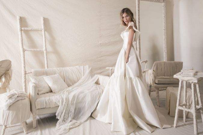 The Top 5 Israeli Wedding Dress Designers You Need To Know The Forward,Hand Made Simple Embroidery Designs For Baby Frocks