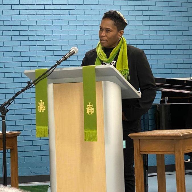 Rabbi Sandra Lawson by the Forward