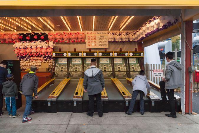 Arcade games by the Forward