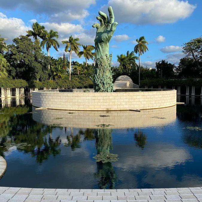 Miami Beach Holocaust Memorial by the striker