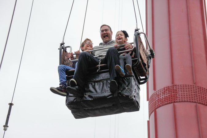 Parachute ride by the Forward