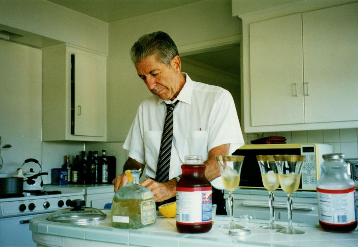 Leonard Cohen Invented His Own Cocktail. The Jewish Museum Gave It A Happy Hour.