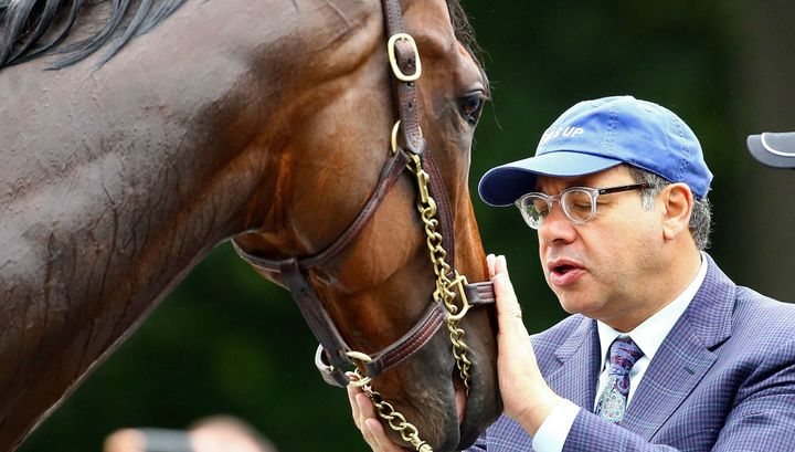 419bb3ced1dcf 7 Things About American Pharoah and His Jewish Owner – The Forward