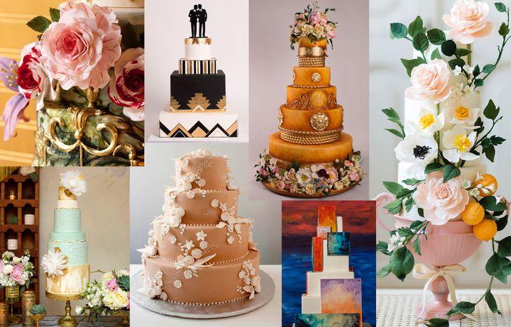 Beautiful Wedding Cakes The Forward