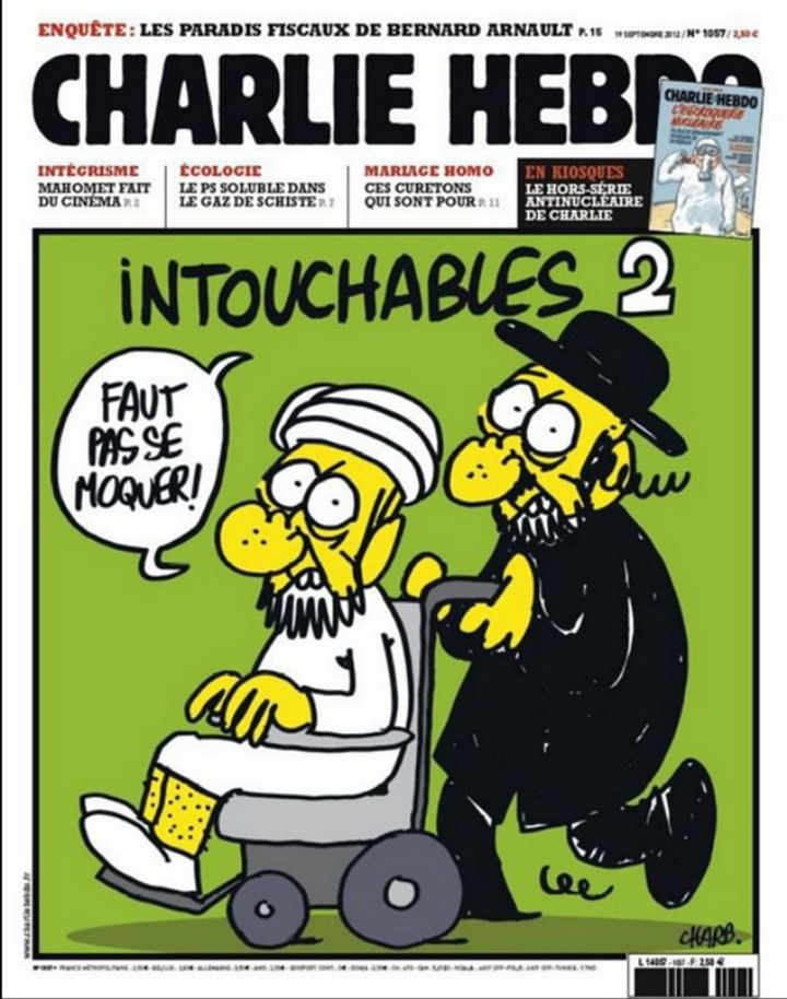 When Charlie Hebdo Lampooned Jews Too – The Forward