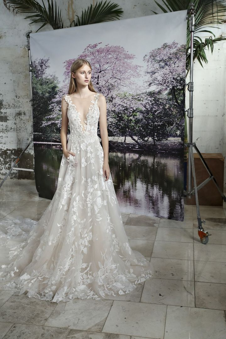 164a6b28c1 Your Favorite Jewish Bridal Designers Are Reimagining The Traditional  Wedding Gown