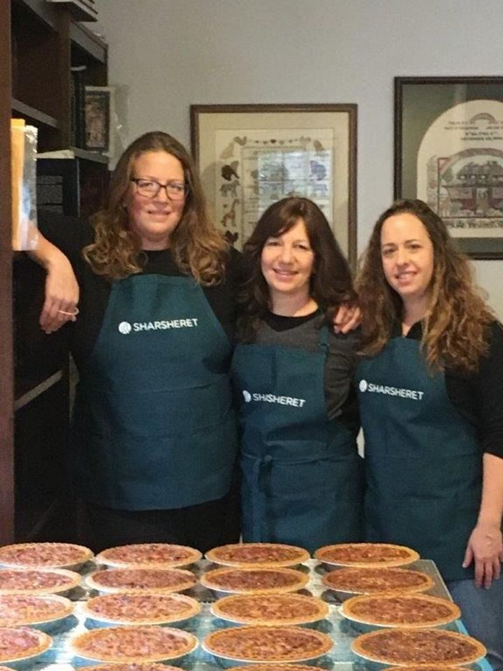 """On The Thanksgiving Menu for """"Sababa"""" Cookbook Author Adeena Sussman: Lots of Pie"""