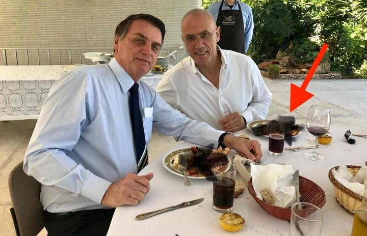 Israeli Ambassador Roasted On Twitter Over Attempt To Scribble Out Lobster Dish In Photo