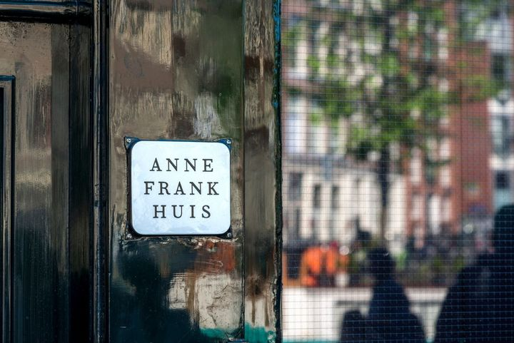 Anne Frank house. by the Forward
