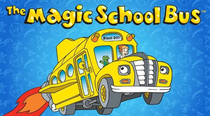 Image result for magic school bus