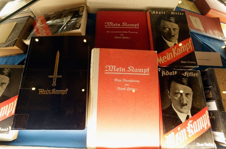 Amazon, Wal-Mart Were Selling Hitler's 'Mein Kampf' Apparently Marketed To Neo-Nazis