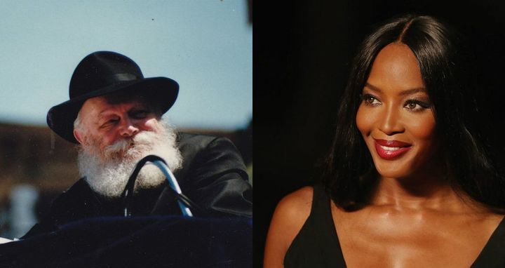Naomi Campbell And Paula Abdul Pay Tribute To…The Lubavitcher Rebbe