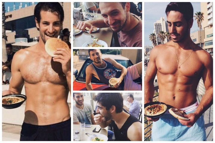 This Yummy Instagram Account Is Dedicated To Hot Israeli Men Eating Hummus Youre Welcome