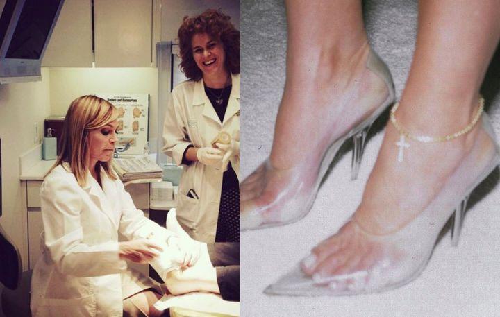 The moldy truth about Kim K's Yeezy heels   Revelist