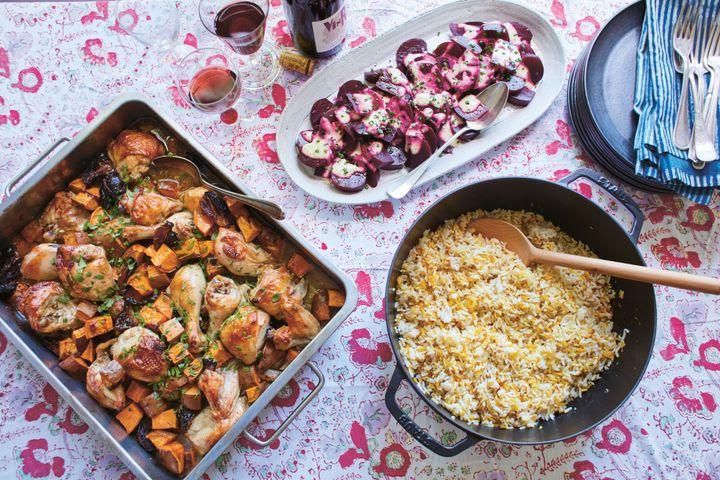 Your Perfect Rosh Hashanah Side Dish: Baked Saffron Salad