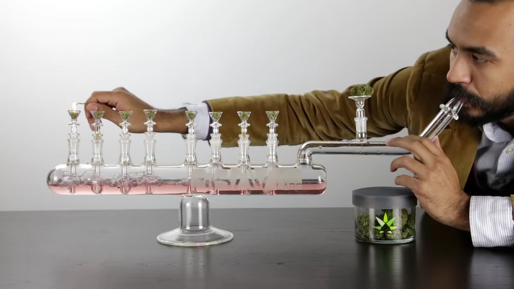 Make Your High Last For 8 Days With This Bong Menorah by the Forward