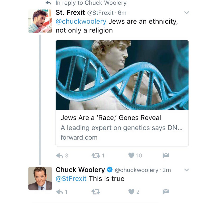 Woolery, Ex-Love Connection Host, Adds To Rant On Jews – The Forward