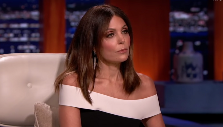 How Real Housewife Bethenny Frankel Leaned In On Shark