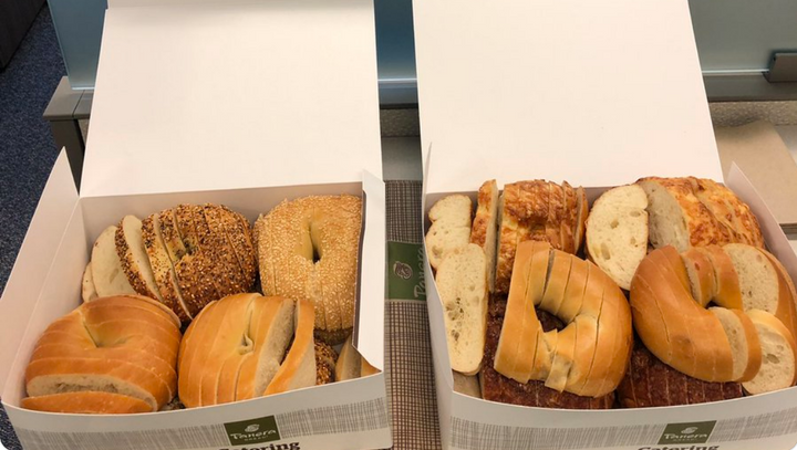 People In Missouri Are Slicing Bagels Like Bread The Forward