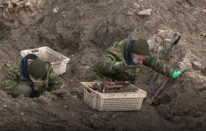 Remains Of 1,200 Holocaust Victims Uncovered During Construction Work Reburied