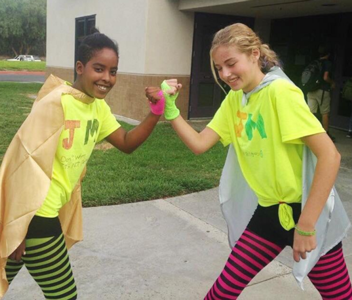 4b5720037 These Jewish and Muslim Best Friends Go Viral as 'Juslim' Superheroes for  Halloween