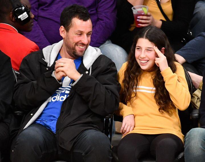 012f1dc58 Adam Sandler Begging Adam Levine To Perform At His Kid's Bat Mitzvah Party  Is Every Parent