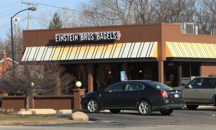 Einstein Bros, which is owned by the Reimann family by the Forward