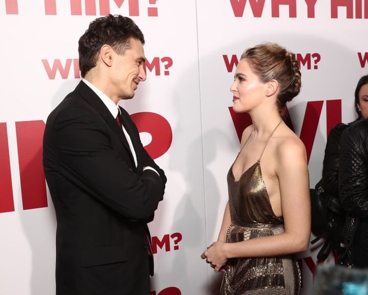 Zoey Deutsch Comments On James Franco S Kissing Skills The