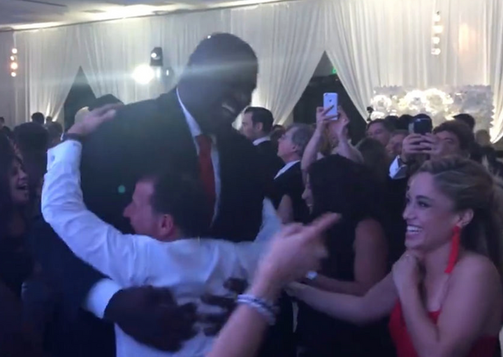 Bari Weiss Wedding.Watch Shaq Totally Nails The Hora At A Jewish Wedding The Forward
