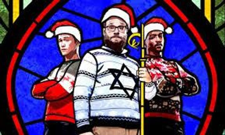 Seth Rogan Christmas.The Jewiest Christmas Movie Ever Brought To You By Seth