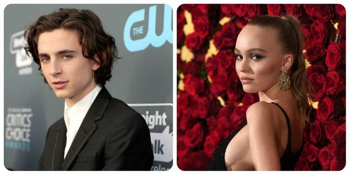 Timothée Chalamet And Lily-Rose Depp Seen Canoodling – The