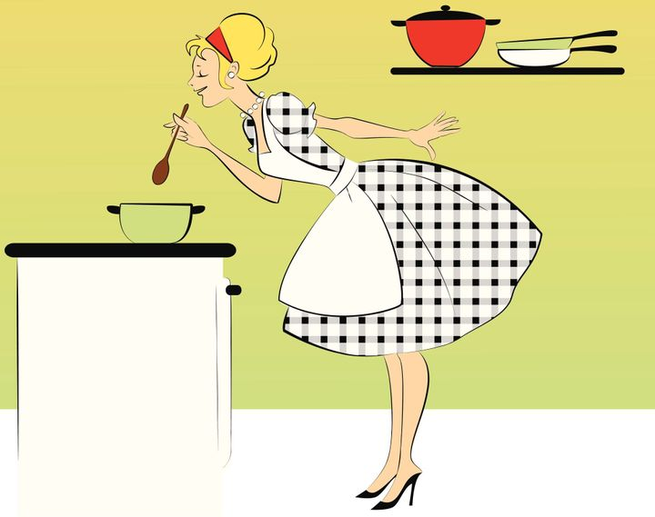 How Martha Rosler's Attack On 'The Woman In The Kitchen' Made Men Angry