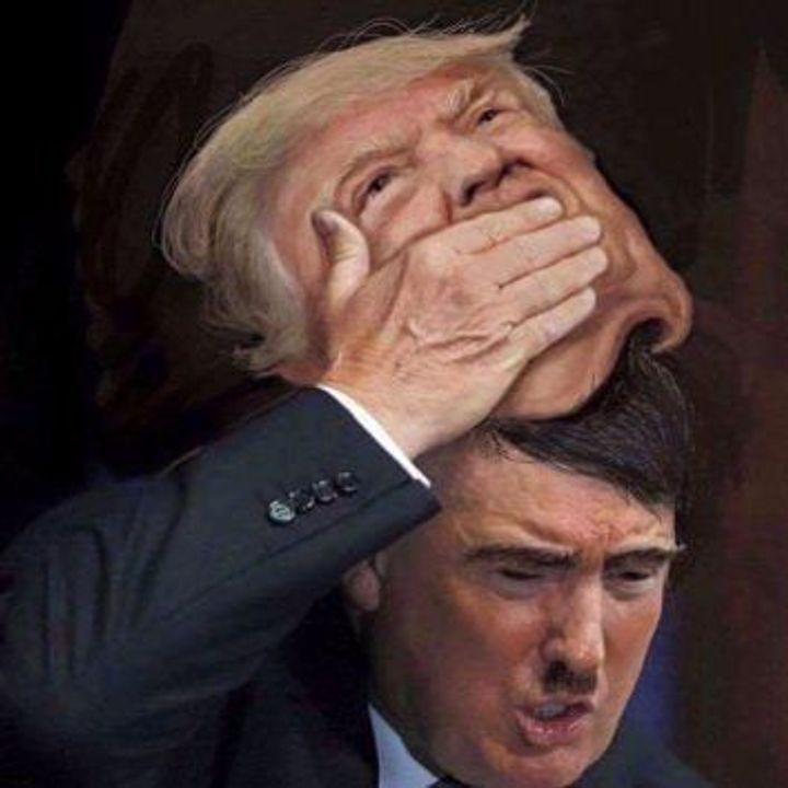 Look 6 Bizarre Hitler Trump Mashup Memes The Forward