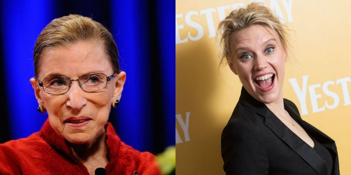 Ruth Bader Ginsburg, Kate McKinnon Attend 'Fiddler On The Roof' In Yiddish